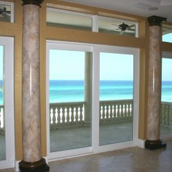 Great Room with Columns, Faux Finishes and Ballustrade