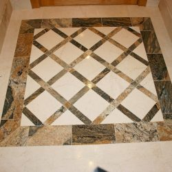 Entrance Foyer - Decorative Tile
